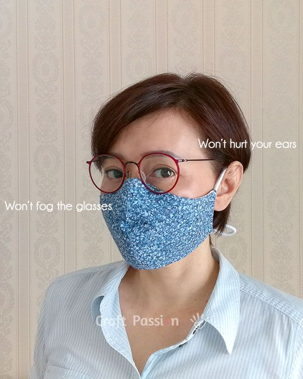 Photo of Face Mask Pattern – Free Sewing Pattern • Craft Passion
