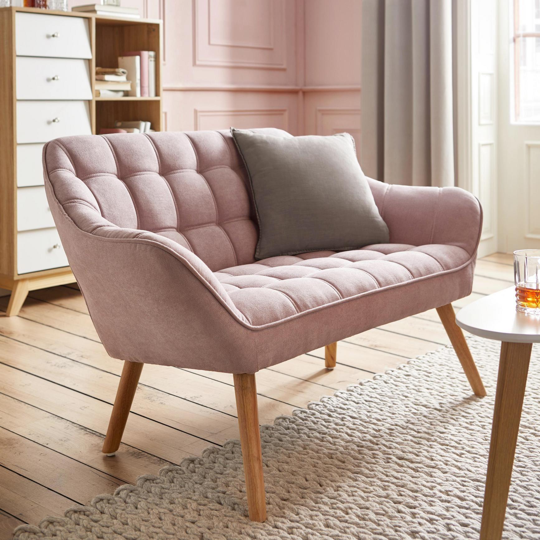 """Sofa in Rosa """"Monique"""" online kaufen ➤ mömax"""