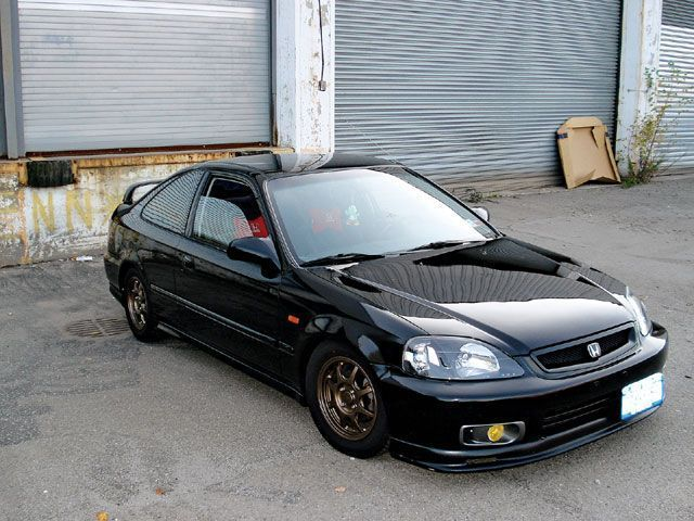 Beautiful Honda Civic SI 2000 JDM
