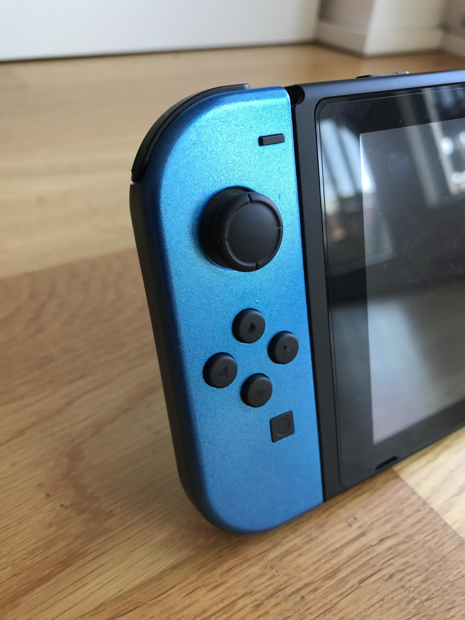 Check out this custom blue joy con paint job with step by step photos