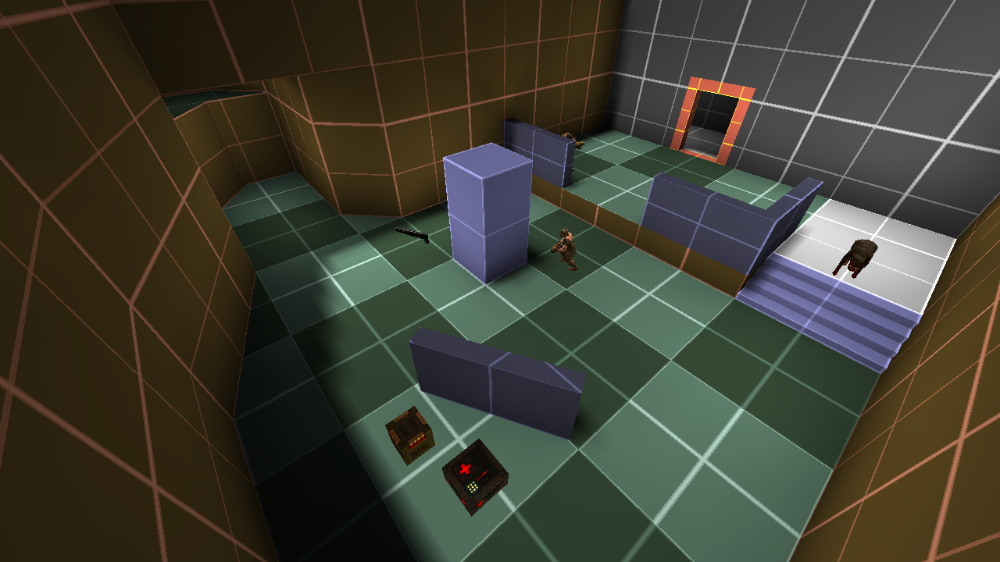 The Door Problem Of Combat Design Andrew Yoder Game Level Design Design Game Inspiration