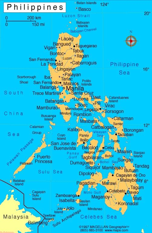 map of philippines with cities  Google Search  MAPS  Pinterest