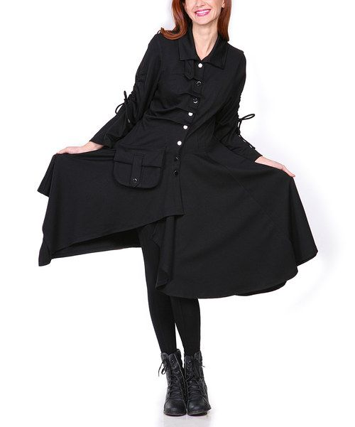 Black military dress jacket