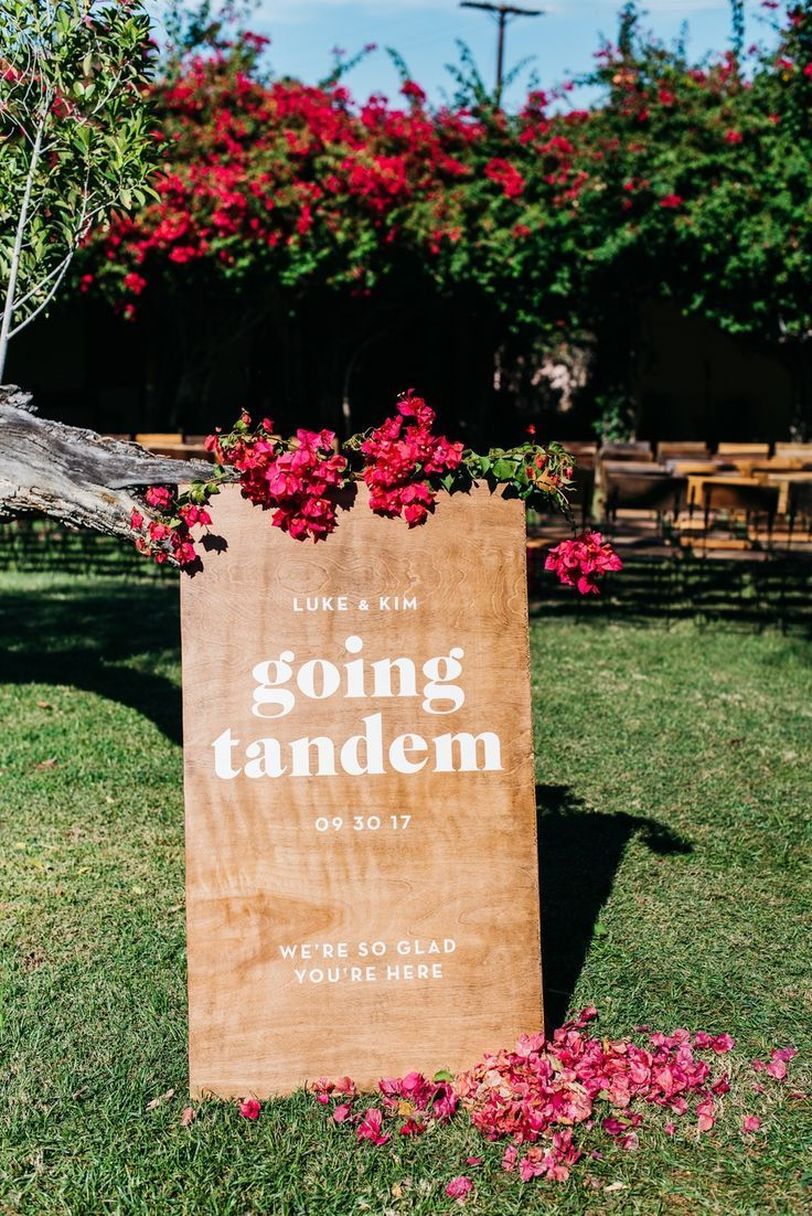 Retro Meets Mod Palm Springs Wedding in 2020 Palm