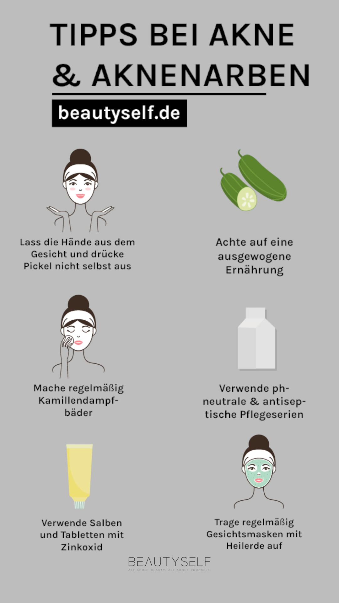 Tipps bei Akne & Aknenarben – Peinados facile