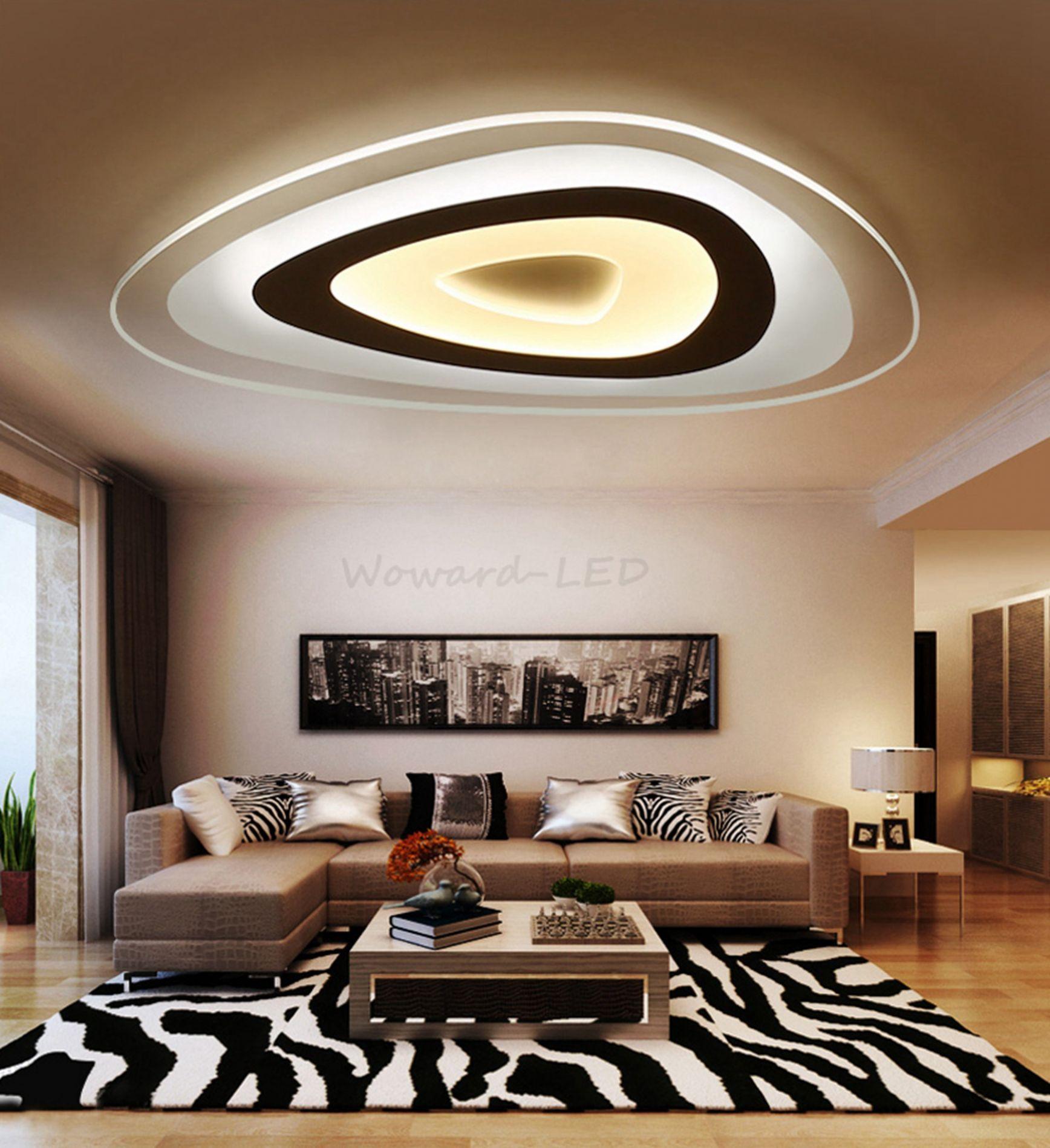 12 Wohnzimmer Lampe Decke Led Dimmbar   Led lampen wohnzimmer ...