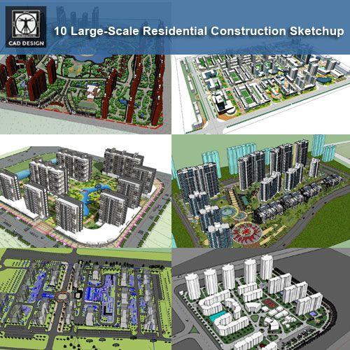 Download 25 Residential Construction Sketchup 3d Models
