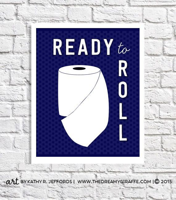 Bathroom decor art funny bathroom sign navy bathroom wall for Bathroom ideas 8 x 11