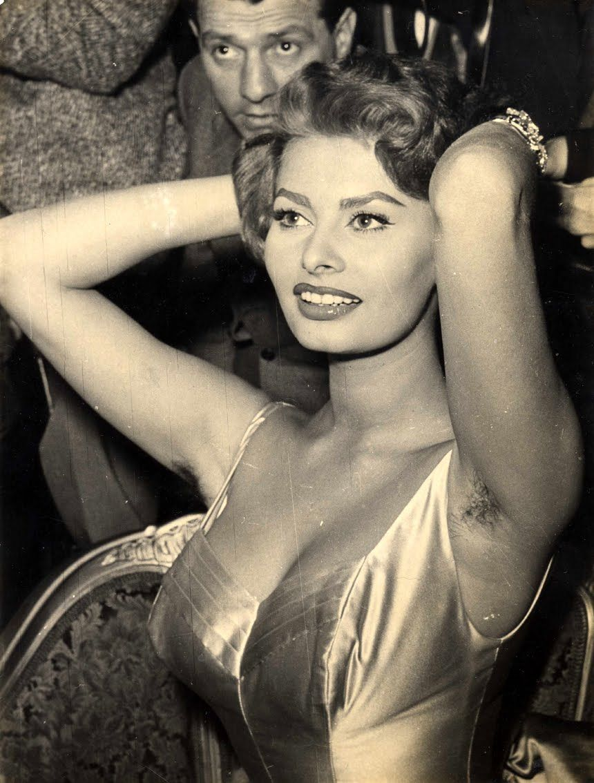 How that sophia loren armpits can