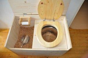 Toilettes s ches dans le van camion am nager for Plan toilette seche exterieur