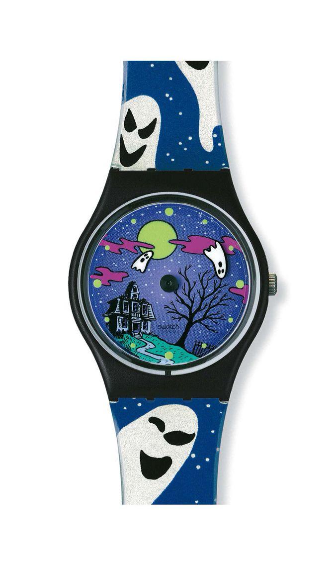 swatch watch halloween geisterstund