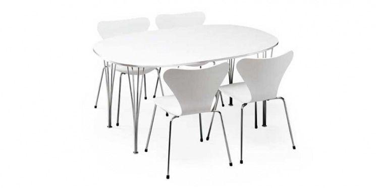 Superellipsi-pöytä Arne Jacobsen d95a569af3
