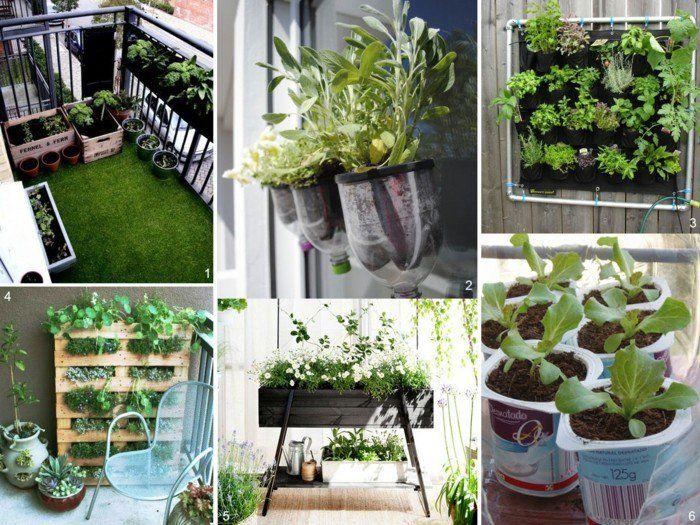 Balkon Gestalten Tipps Balkonpflanzen Vertikaler Garten ... Balkon Gestalten Balkonmobel Balkonpflanzen