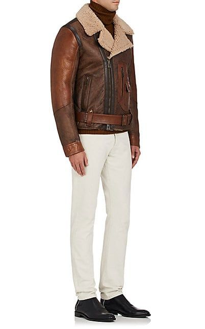 new high arriving quality Belstaff Danescroft Shearling Aviator Jacket - Coats ...