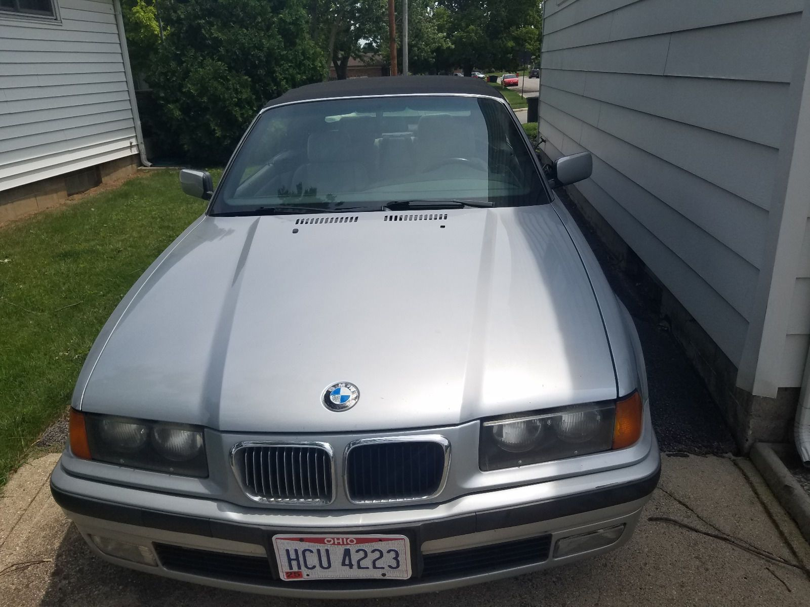 Cool Great BMW Series Silver BMW I Convertible - 1997 bmw 328i convertible