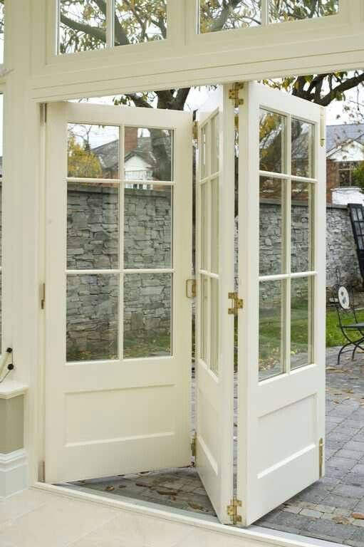 love these doors that go outside - Outside Patio Doors