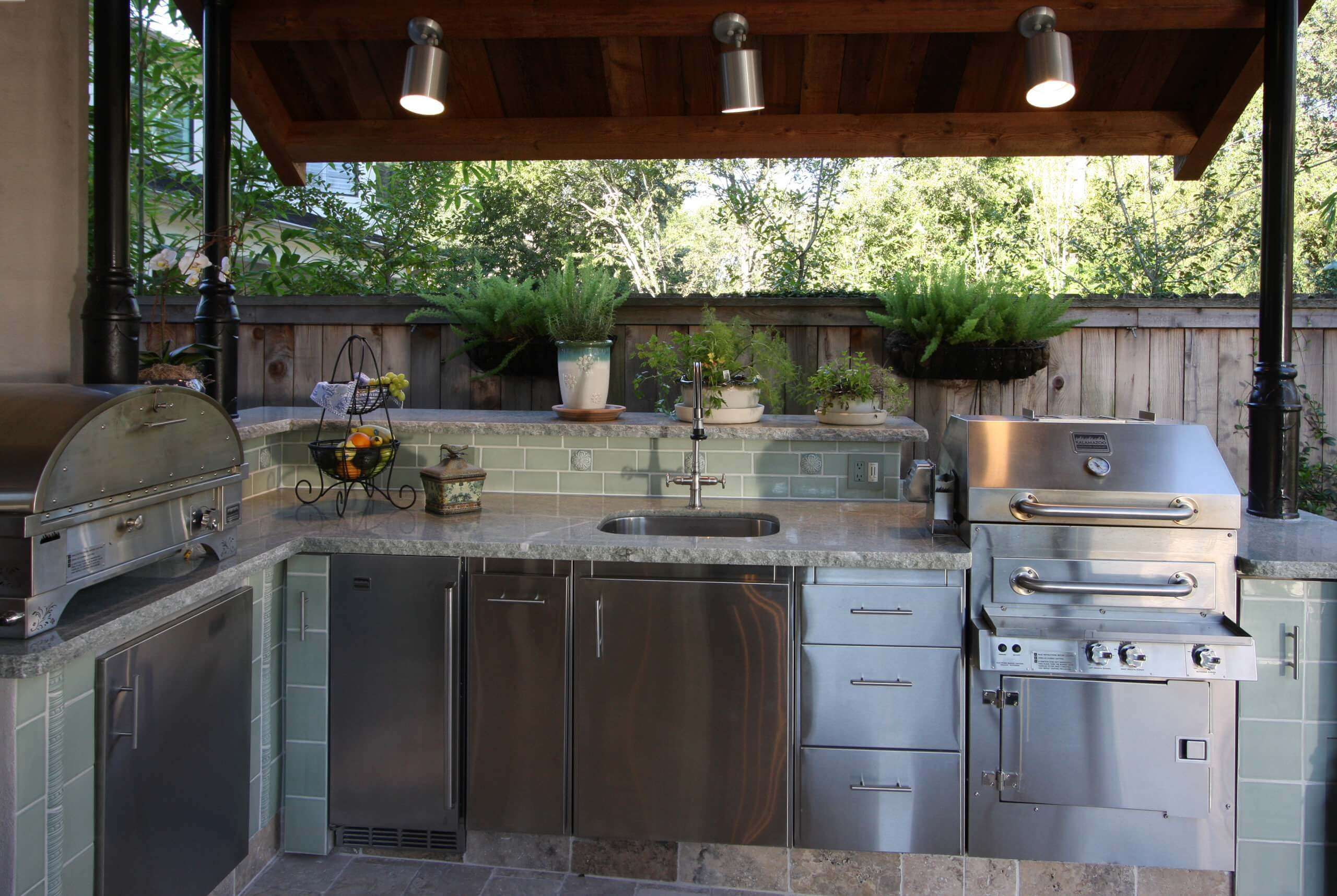 Smart outdoor kitchen pictures you will interest