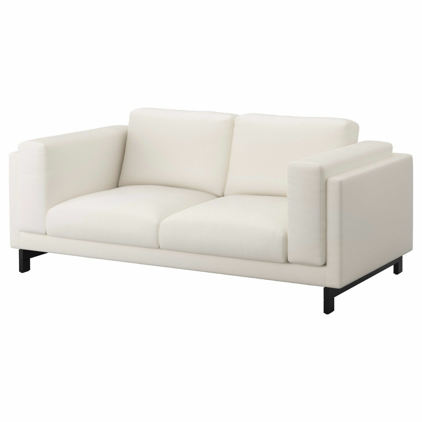 New Ikea Nockeby 2 Seat Loveseat Couch Cover Slipcover Risane White White Sofa Whitesofa In 2020 Ikea Sofa Couch Covers Slipcovers Love Seat