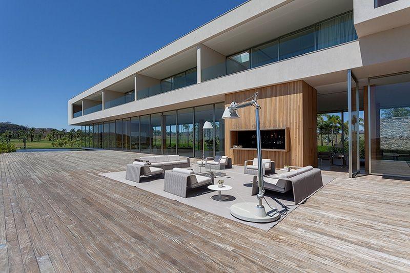 Casa belo horizonte i concrete finish for Fachadas de casas modernas em belo horizonte