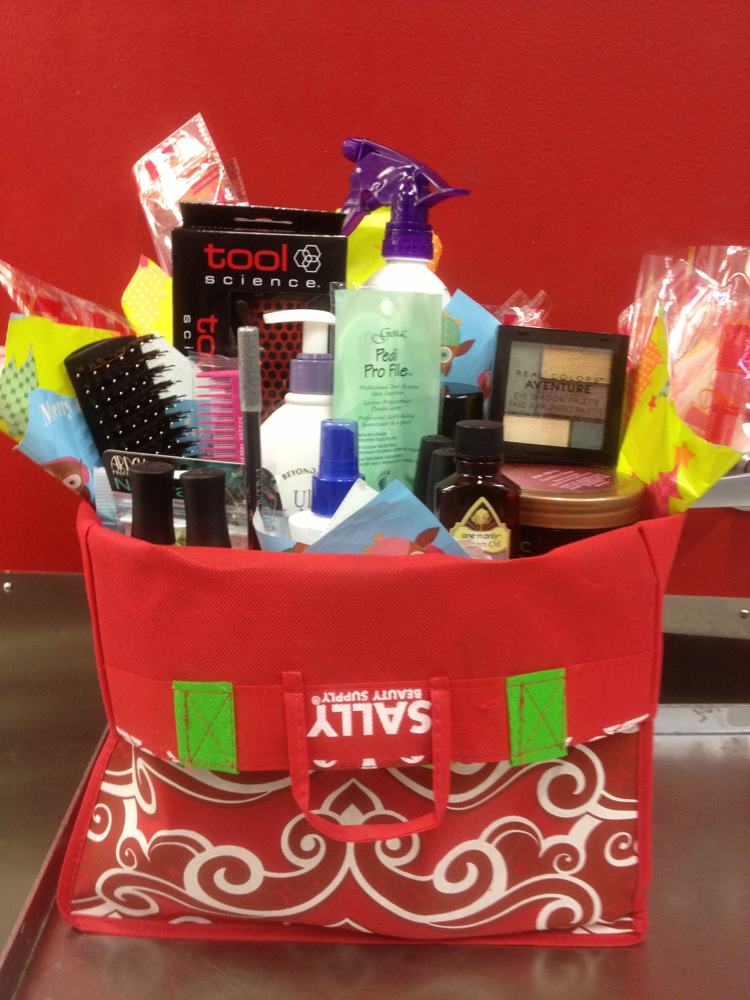 sally giveaway loaded bag full of goodies this Month March 20th 6/8pm and 10$ gift card with $40 ...