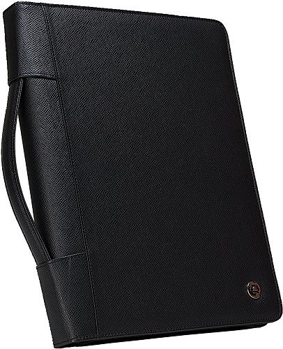 3.Case-it Executive Zippered Padfolio With Removable 3
