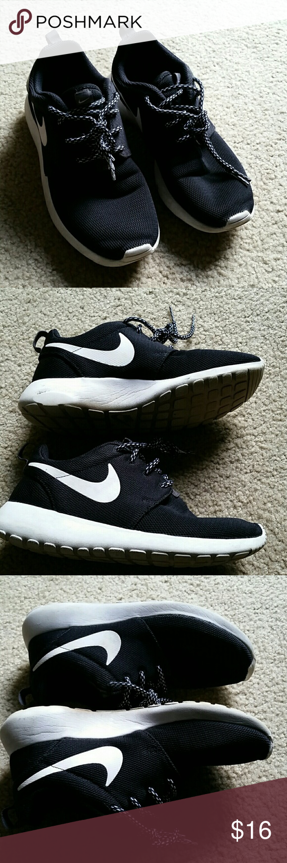 Nike Sneakers Black with white trim