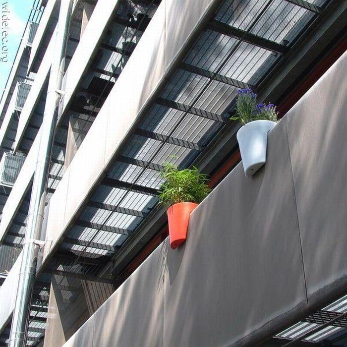 Vasos para colocar na varanda