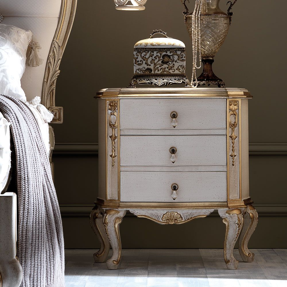 Ornate Italian Rococo Bedside in 2020 Furniture