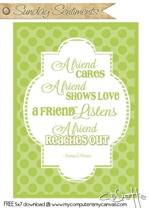 lds friendship quotes