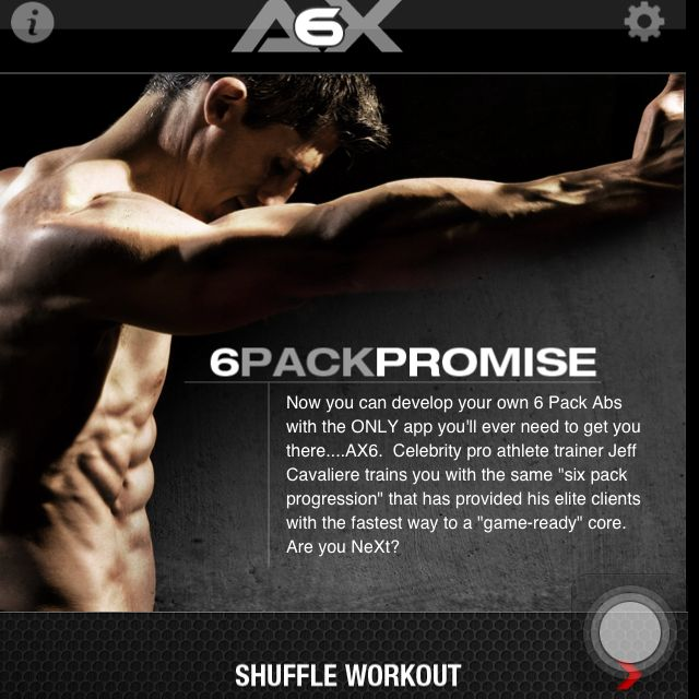 Athlean-X, 6 pack abs. Gives you 8 weeks of grocery shopping and meal plans, and 5 min daily workouts! And, it's free!!