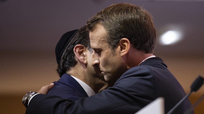 Pour Macron, le départ des Juifs de France «est une