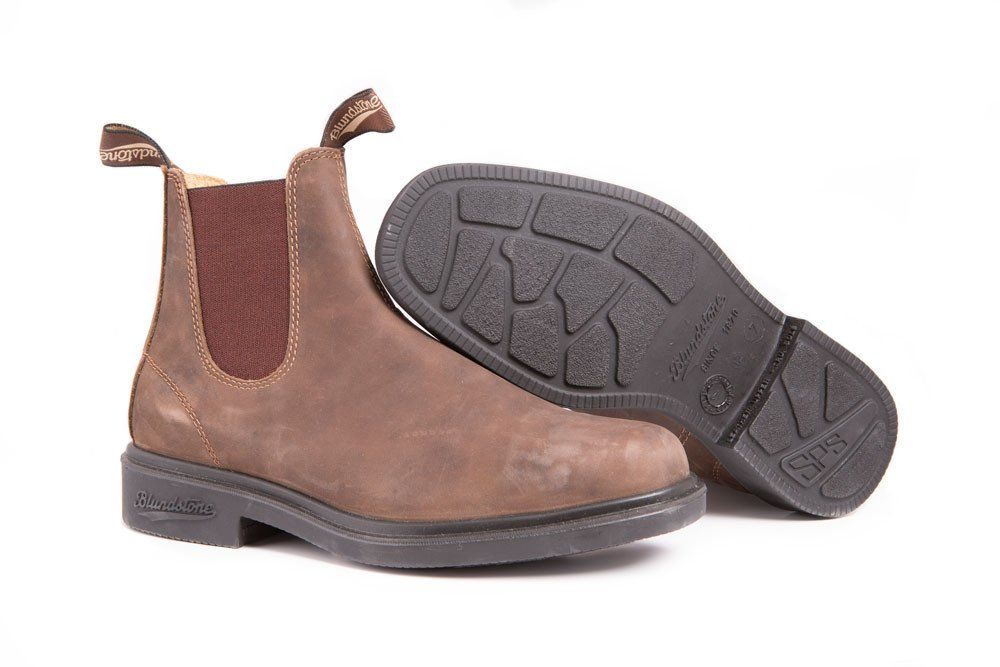 cdc6997f2dedd The Blundstone 1306 Chisel Toe Rustic Brown in unisex Blundstone sizing is  back. This Blundstone leather is relaxed and classic, like an old friend,  ...