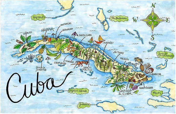 Saint Lucia Map Caribbean Watercolor Print Honeymoon Gift Map Wedding Gift Map