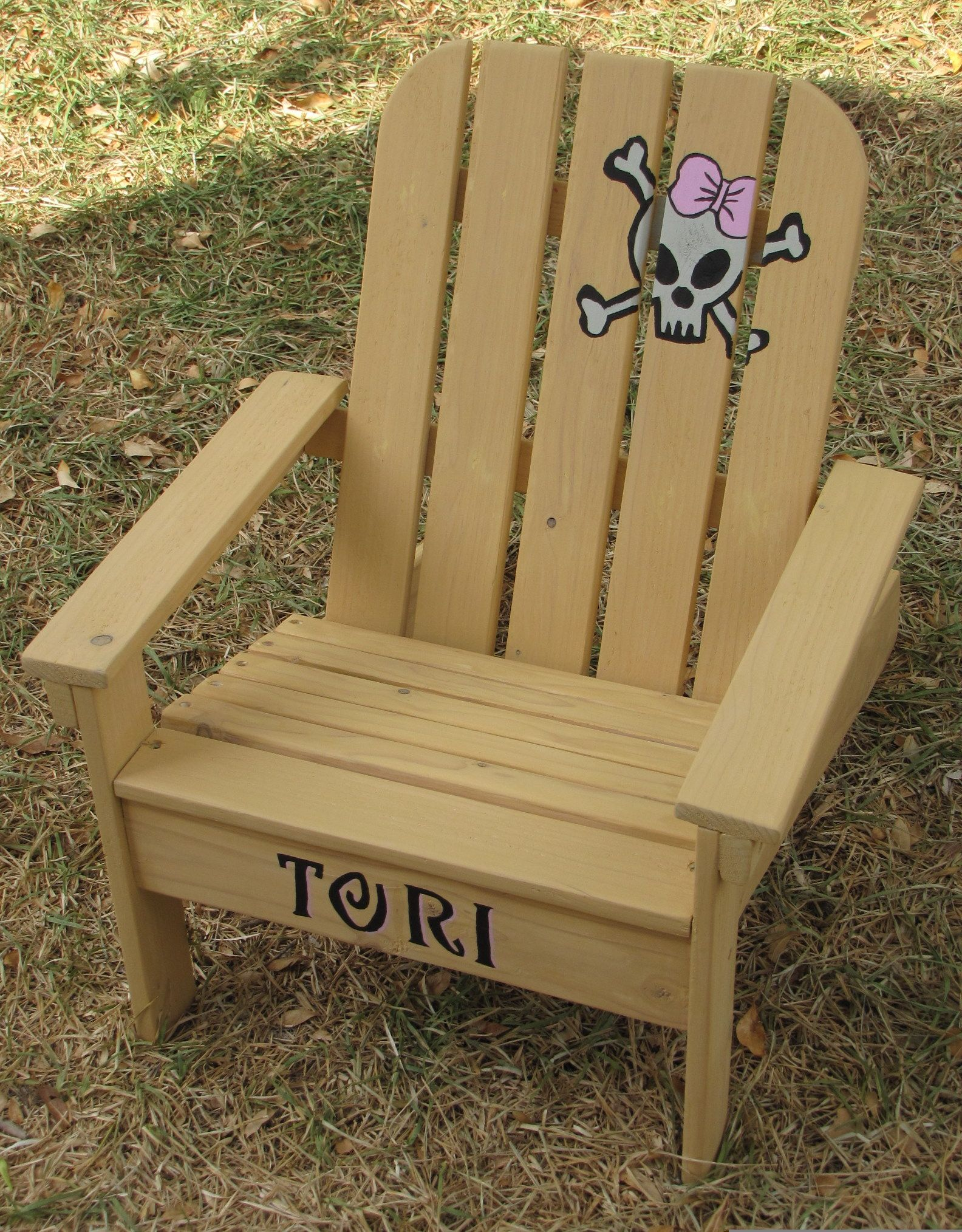 Ana White Kids Adirondack Chair DIY Projects Woodworking