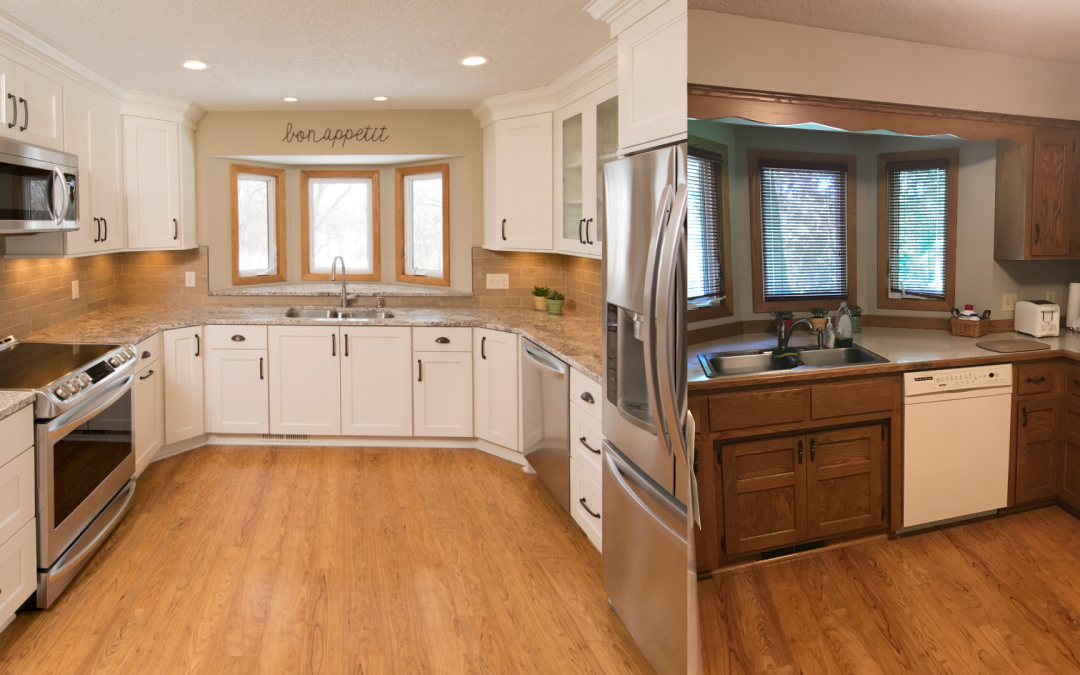 Remodeling a U-shaped Bay Window kitchen can be daunting ...
