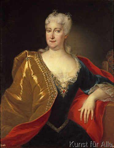 AKG Anonymous - Empress Elisabeth Christine / Painting
