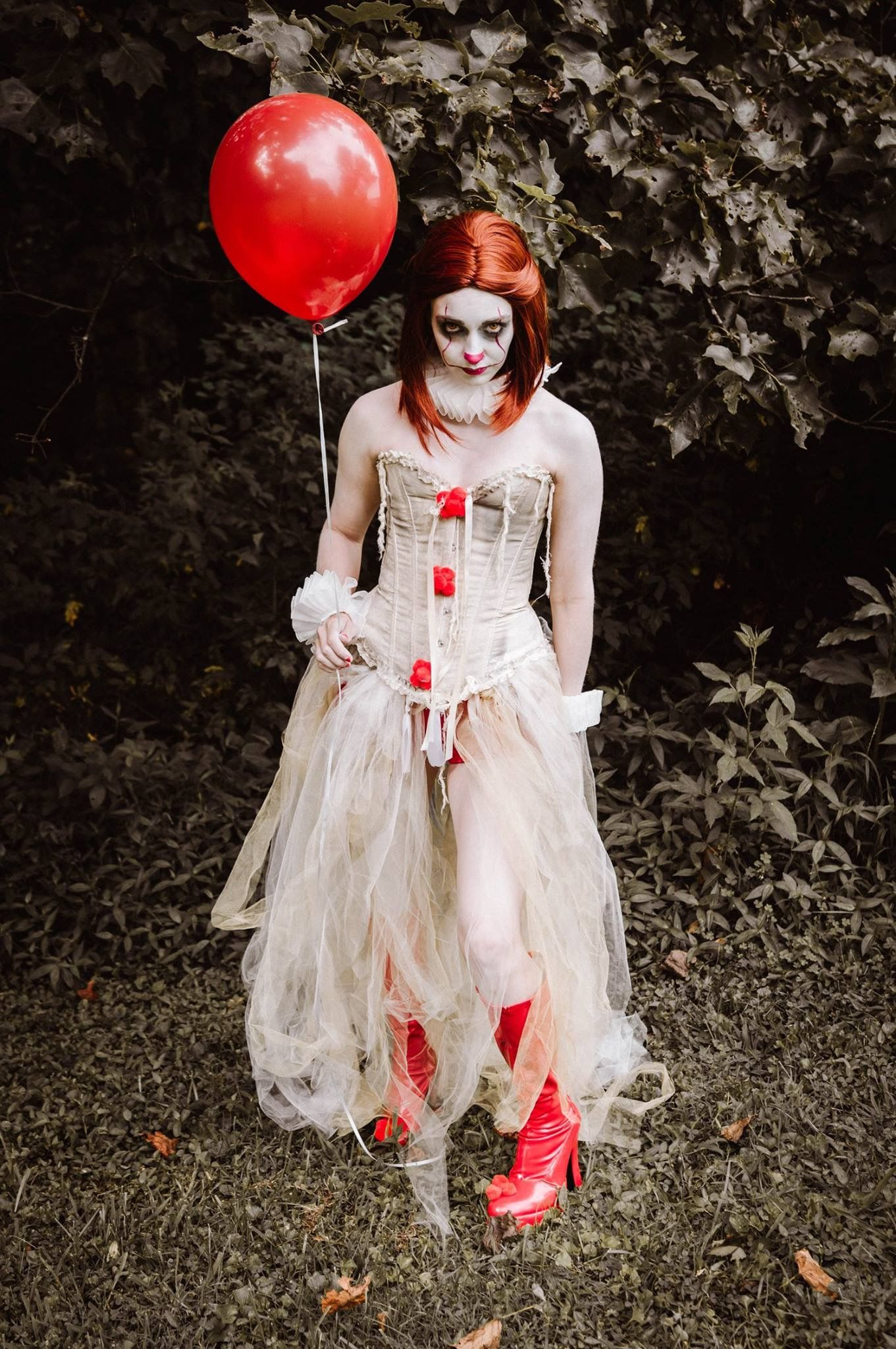 My fun, feminine twist on Pennywise the dancing clown IT