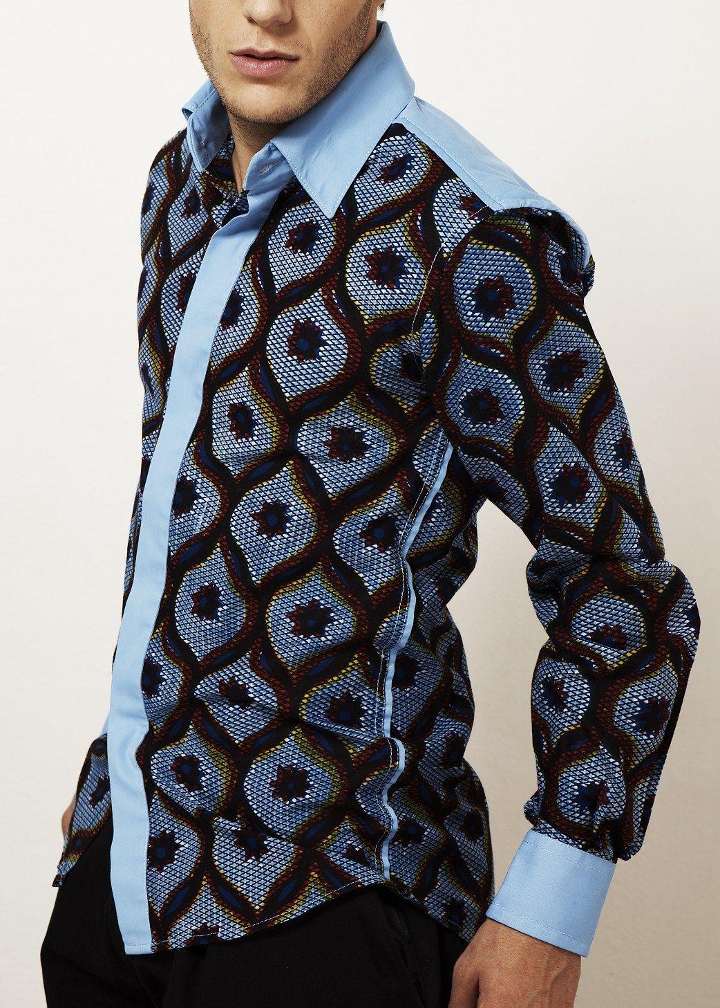 Shirts | Kévé | African men fashion, African clothing for men, African shirts for men