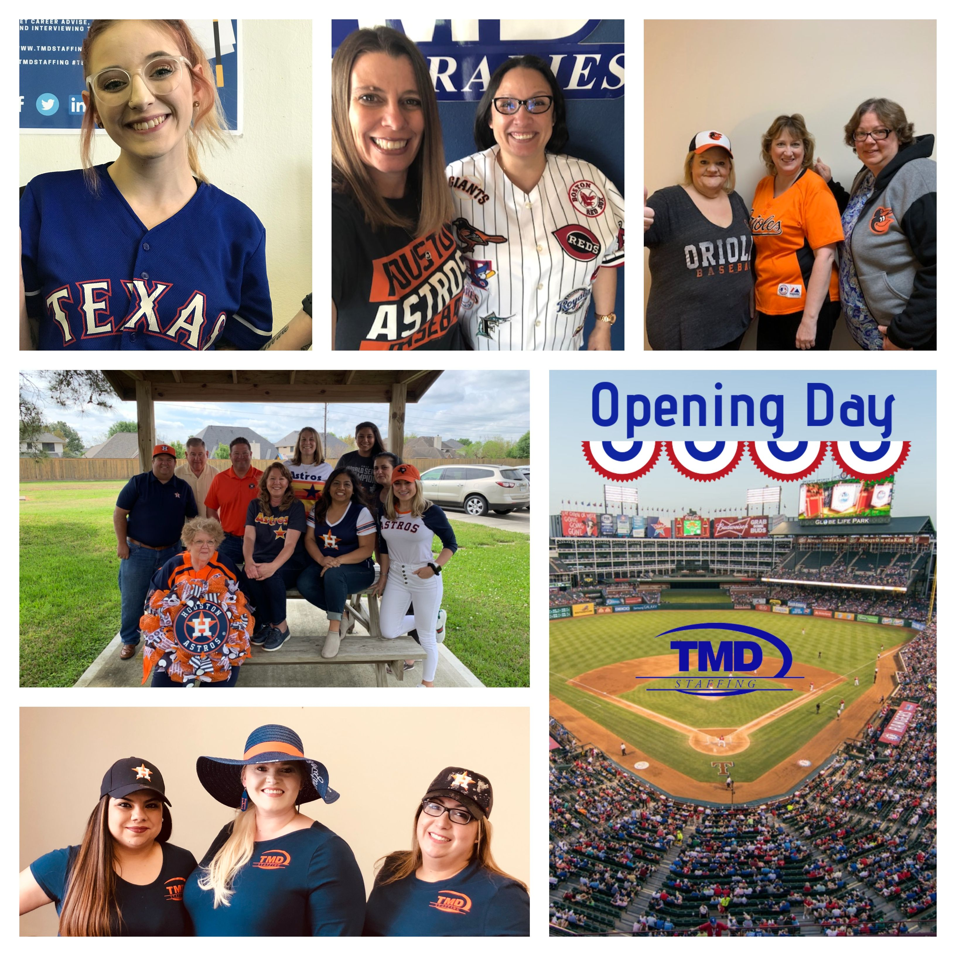 Opening Day 2019 We May Support Different Mlb Teams But We All Support Team Tmd Openingday Mlb Support Teamtmd Tmdstaffi With Images Opening Day Mlb Teams One Team