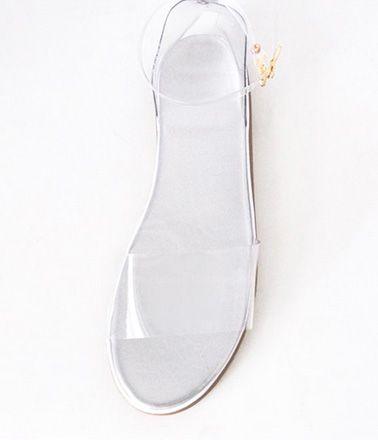 Transparent sandal... http://www.dresslily.com/transparent-and-flat-heel-design-sandals-for-women-product383036.html