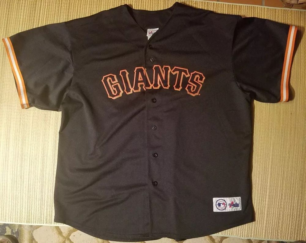 Vintage Barry Bonds  25 San Francisco Giants MLB Majestic Jersey 2XL    39.95 End Date  Sunday Nov-25-2018 22 27 17 PST Buy It Now for only … 6d89c751c