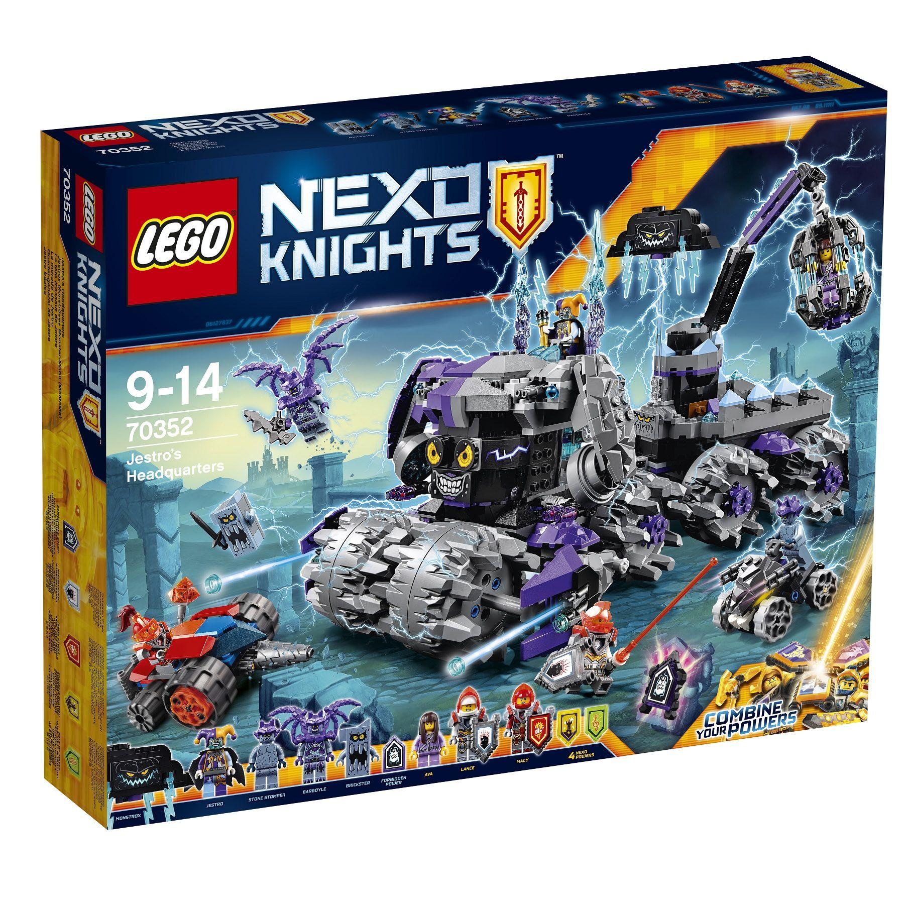 Jestros Monströses Monster-Mobil (MoMoMo) 70352 LEGO Nexo Knights