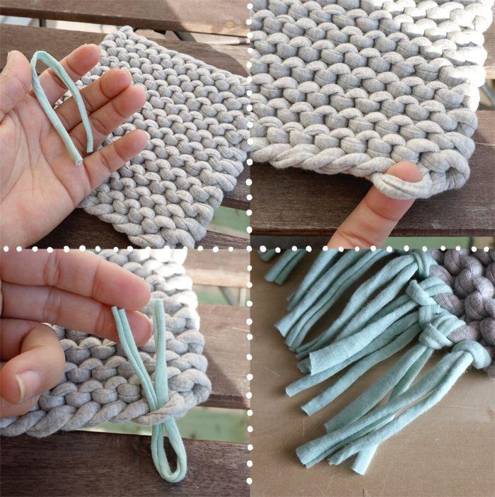 tricoter trapilho