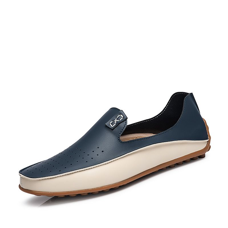 b8229ece23f Find More Boat Shoes Information about Summer Designer Leather Patchwork  Mens Shoes Loafers For Men Shoe Driving Moccasins Size 36 37 38 to 45 46 47  Beige ...
