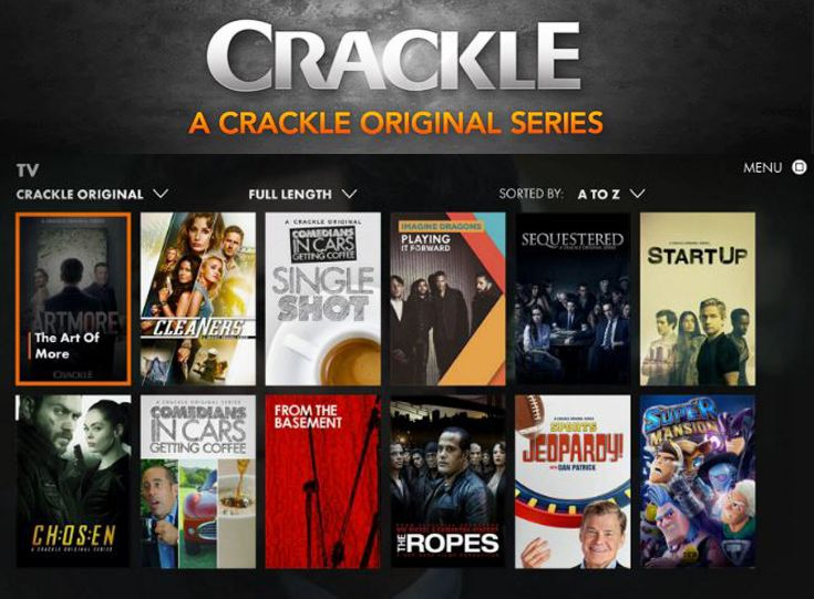 CrackleWhat You Need To Know, Movie Tv Shows Streaming