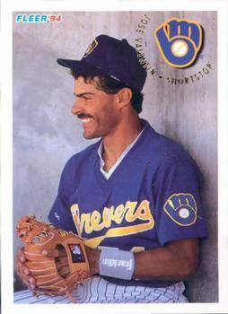 1994 Fleer 194 Jose Valentin Front Puerto Riquenos En La