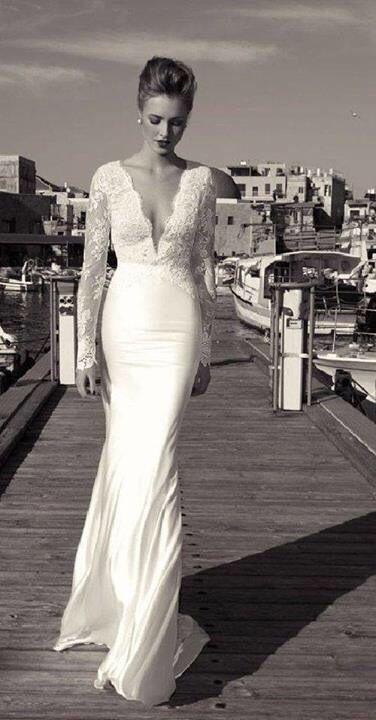 Simple But Beautiful Wedding Dress 3