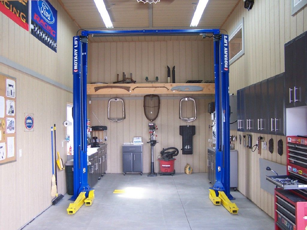 Photo of Auto Hoist? – Hot Rod Forum : Flush mount cabinets.