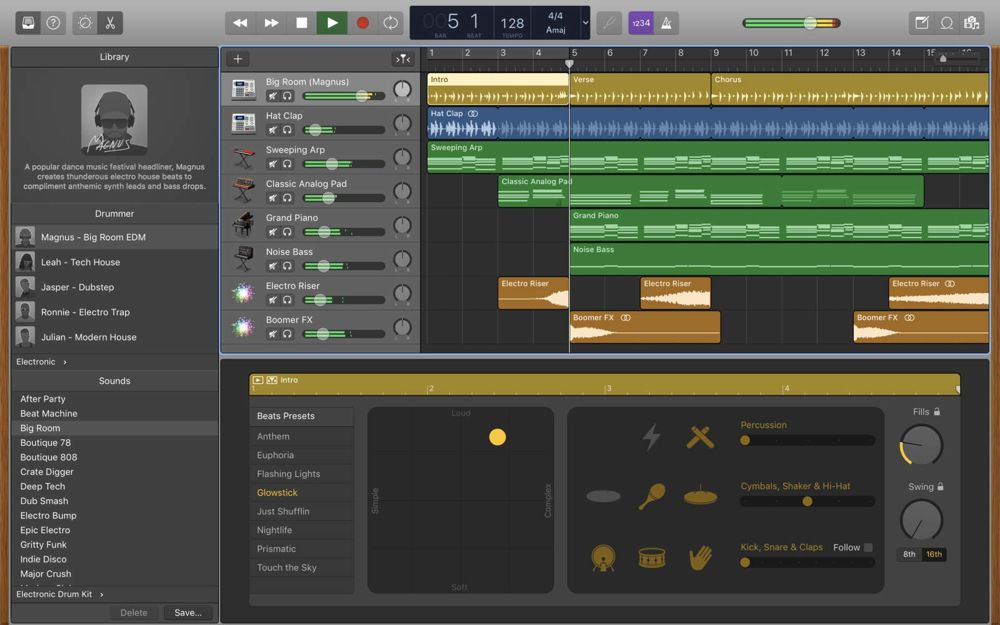 GarageBand for Mac updated with Touch Bar support, more