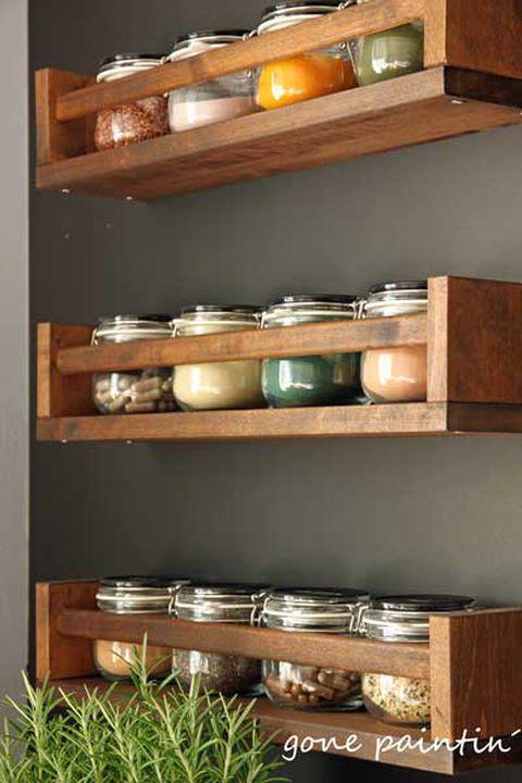 #shabbychic Umgestaltung Küche mit Ikea Regal und ...
